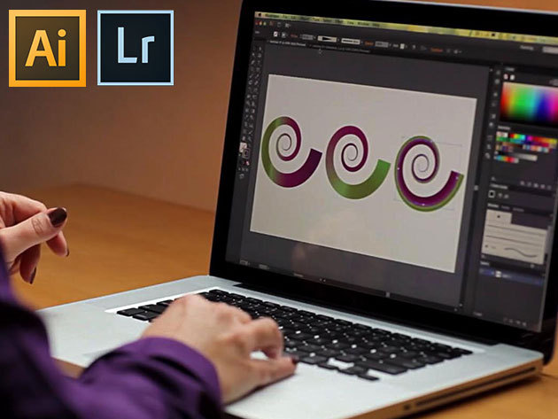Adobe Illustrator CS6 és Adobe Lightroom 5 online kurzusok angol nyelven, vizsgával és tanúsítvánnyal, 1 év korlátlan hozzáféréssel az internetes tartalomhoz - 1 vagy 2 fő részére
