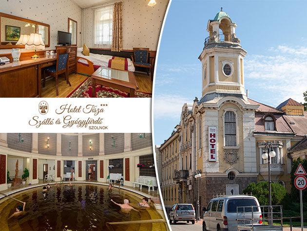 Hotel Tisza*** Szálló és Gyógyfürdő, Szolnok - 3nap/2éj 2 fő részére svédasztalos reggelivel vagy félpanzióval, és korlátlan gyógyfürdőzéssel