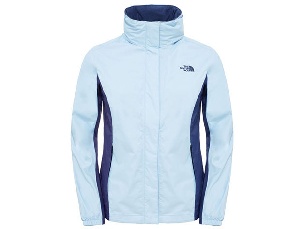 The North Face W RESOLVE JACKET PWDER BL/PTR BL - T0AQBJFPY (XL)