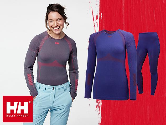 Helly Hansen W HH DRY ELITE 2.0 LS - hosszú ujjú női aláöltözetek - Lifa® Stay Dry technológia, mely szárazon tart