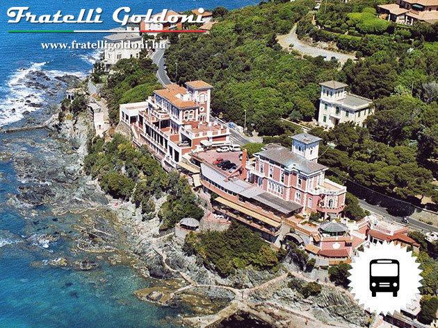 TOSCANAMORE... toszkán romantika a tengerparti Villa Sorrisoban. 6 nap / 5 éj autóbusszal, szállással, reggelivel, kirándulásokkal