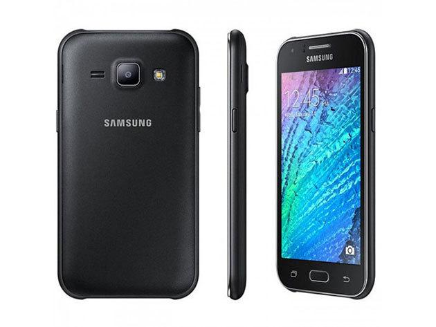 FEKETE Samsung Galaxy J1 gyári független mobiltelefon magyar menüvel + tok + üvegfólia felrakással + teljes gyári tartozék, 1 év garanciával