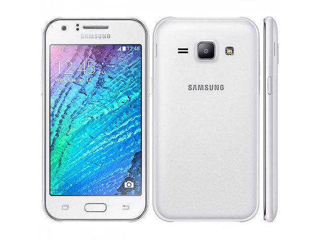 FEHÉR Samsung Galaxy J1 gyári független mobiltelefon magyar menüvel + tok + üvegfólia felrakással + teljes gyári tartozék, 1 év garanciával