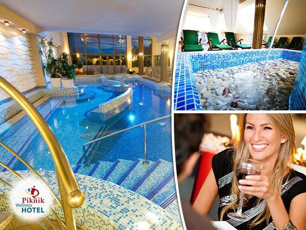 SIÓFOK Piknik Wellness Hotel*** a márciusi 15-i hosszú hétvégén: 3 vagy 4 nap szállás teljes ellátással, korlátlan wellnesszel / fő (pároknak és társaságoknak)