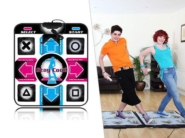 Táncszőnyeg, mely TV-re, laptopra, számítógépre telepíthető: 36 zeneszám + 1 játék! Légy Te a táncparkett ördöge!