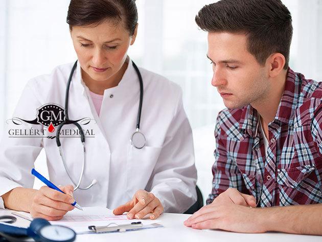 Vastagbélrák-szűrés a Gellért Medical Laborban vérvétellel és szakértői véleménnyel, további kedvezményekkel, kényelmes, elegáns környezetben, a Szent Gellért térnél