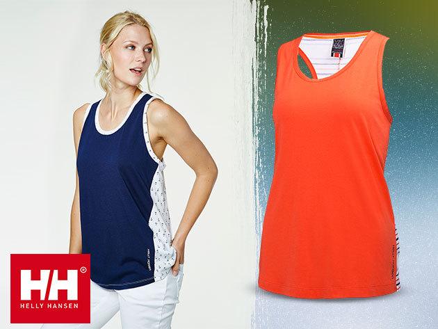 Helly Hansen W NAIAD és VISTA SINGLET női trikók a meleg nyári napokra, gyorsan száradó, jól szellőző anyagból