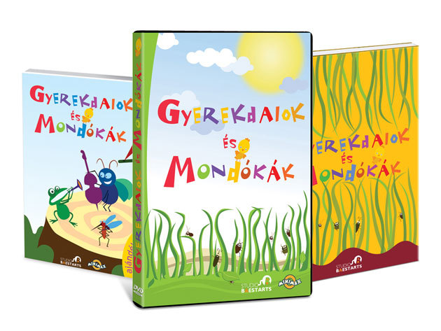 Gyerekdalok és Mondókák nagykönyve; Gyerekdalok és Mondókák CD; Gyerekdalok és Mondókák DVD