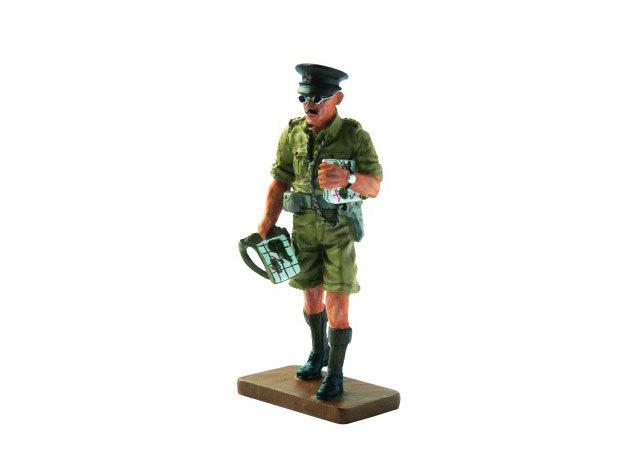 Lövész törzstiszt, 8. brit hadsereg, 1942