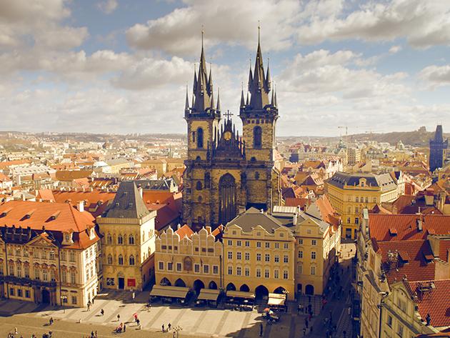 Prága Hotel JUNO 4 nap 3 éjszaka 2 fő részére reggelivel