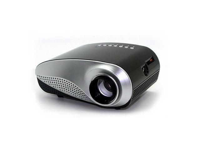 Mini LED Projektor 802 (Fekete)