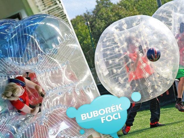 1 óra buborékfoci Budapesten 8-16 fő részére