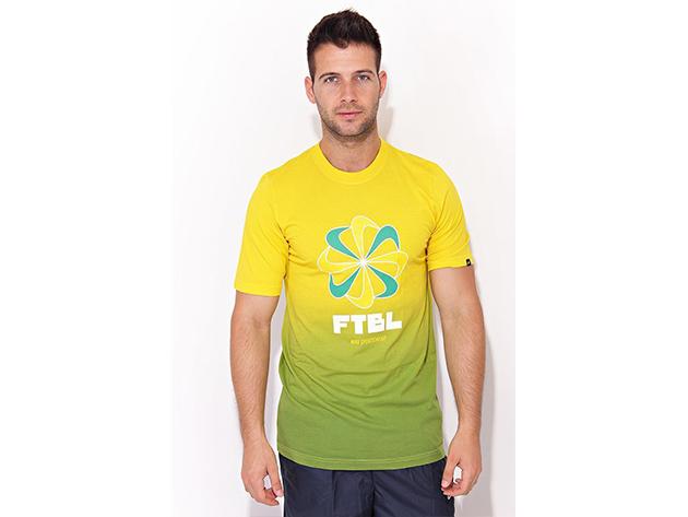 Nike FTBL Sunburst Tee EMEA - Sárga - 366096-344 (XXL)