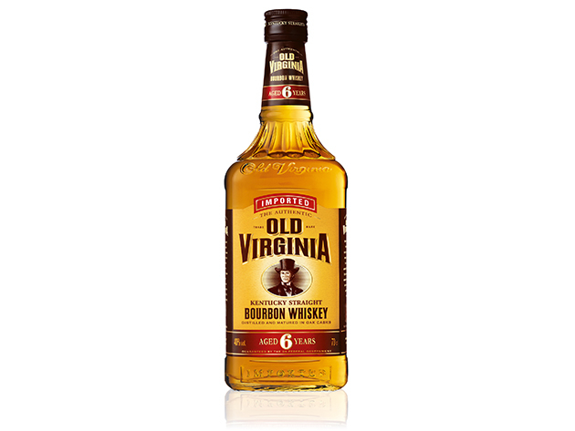 Old Virginia Bourbon Whisky 0,7L (6 éves) - UB-900127, USA-Bourbon whisky