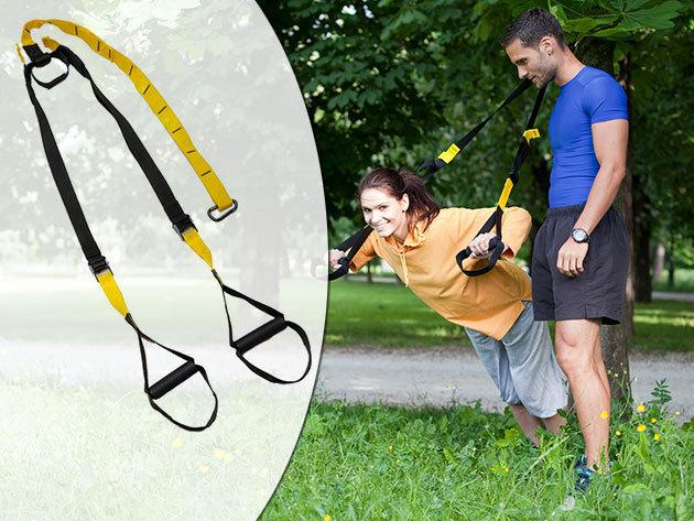 Suspension trainer edzőheveder 1 év garanciával a funkcionális edzésekhez - Hozd formába magad nyárra!