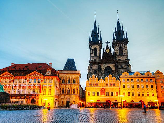Prágai városlátogatás és szállás szuper áron! Hotel Bílý Lev - 3 vagy 4 nap 2 fő részére reggelivel a város központjában