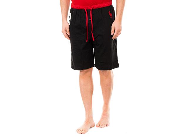 Ralph Lauren rövid pizsama nadrág - fekete,piros - (L)