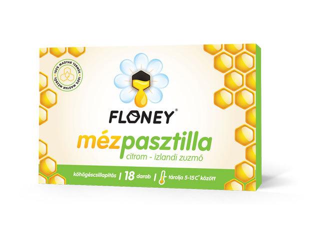 Floney CITROM, IZLANDI ZUZMÓ Köhögéscsillapító mézpasztilla