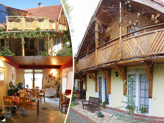 Kőszeghegyalja (Horvátzsidány) - 3 nap / 2 éjszaka szállás 2 fő részére reggelivel, pezsgőfürdő használattal és egyéb kedvezményekkel, egy hangulatos vendégházban