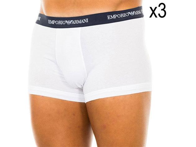 Emporio Armani boxer - fehér (3db) - XL