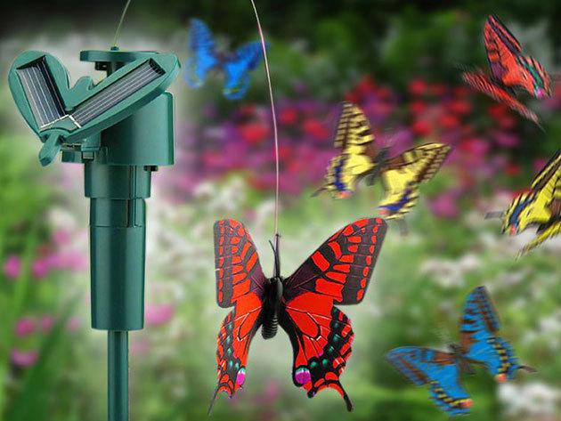 Napelemes pillangó - Legyen saját pillangód a kertben, a virágládában, vagy az erkélyen!