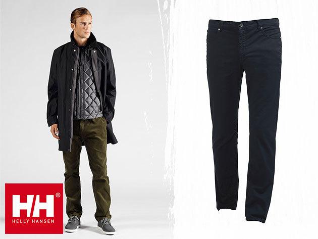 Helly Hansen HH JEANS és CORD CHINO - élénk színű nadrágok stílusos férfiaknak / laza elegancia