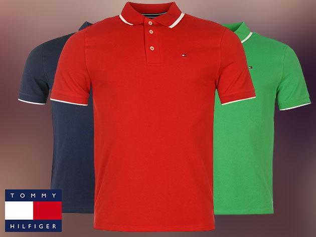 Tommy Hilfiger férfi galléros pólók 100% pamutból, S-XL méretben - hódíts lehengerlő stílusérzékeddel!