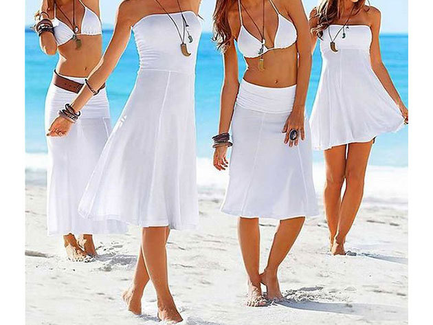 Nyári ruha, melyet szoknyaként is viselhetsz - 4in1 praktukus, lenge viselet a nyaralásra