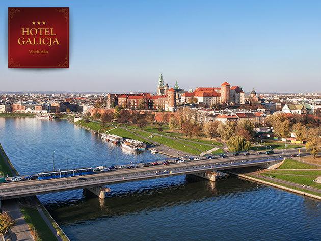 Hotel Galicja***, Wieliczka, Krakkó közelében - 3 nap/2 éjszaka szállás 2 fő részére reggelivel + 1 vacsorával!