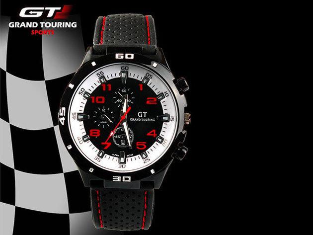 GT Grand Touring Sport - fehér-piros
