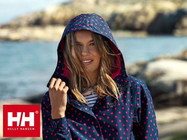 Helly Hansen W NINE K JACKET - vízálló, szélálló, lélegző kapucnis dzseki