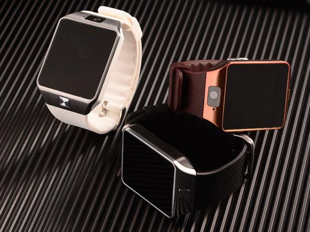 Smart Watch okosóra iOS és Androidos telefonokhoz - lopásgátló, hívásfogadás, kamera és még sok hasznos funkció