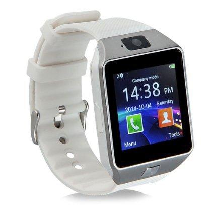 Smart Watch okosóra iOS és Androidos telefonokhoz / ezüst-fehér