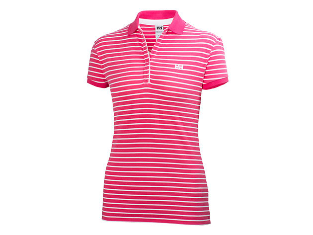 Helly Hansen W BREEZE POLO MAGENTA STRIPE XL (50922_146-XL)
