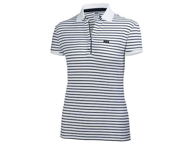 Helly Hansen W BREEZE POLO WHITE STRIPE XL (50922_002-XL)