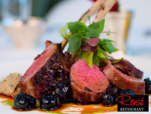 Ebéd vagy vacsora kettesben a belvárosi Rosé Restaurantban - Kulináris gyönyörök a' la carte 10.000 Ft értékben, 4.980 Ft-ért
