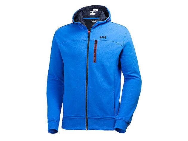 Helly Hansen CREW FZ HOODIE RACER BLUE L (54388_535-L)