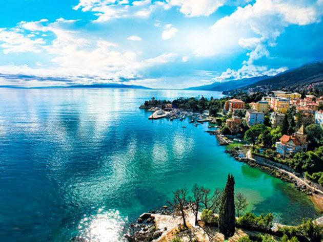 Opatija, Horvátország - csobbanás az Adriában / non-stop buszos utazás a tengerparthoz, augusztus 10-12. / fő