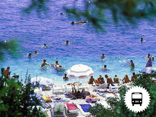 Opatija vagy Baska - buszos utazás Horvátország, 1 napos a tengerparti pihenés, csobbanás az Adriában / fő