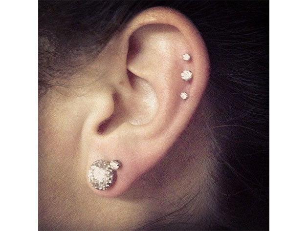 Fül piercing