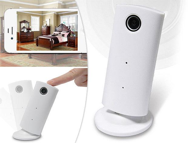 Vezeték nélküli megfigyelő IP kamera otthonra, irodába, kisgyerekhez vagy akár kisállathoz, kép, hang, fotó és videó valós időben értékeidről, kisbabádról