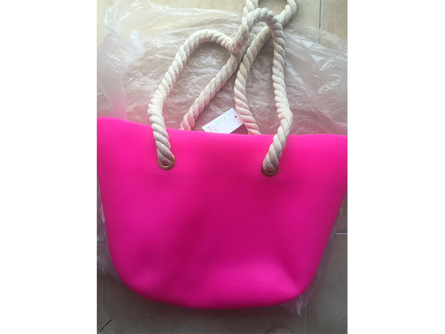 MyBag női szilikon táska Pink színű