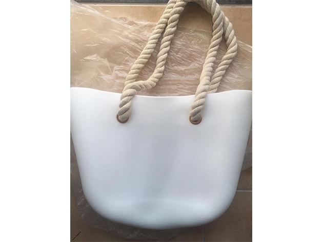 MyBag női szilikon táska fehér színű