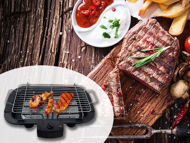 Elektromos kontakt grillsütő - a kerti partik élménye akár az erkélyen vagy a lakásban is