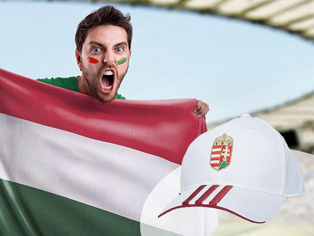 41aa24c55798 ADIDAS szurkolói baseball sapka Magyarország címerével / Szurkolj a magyar  csapatnak a foci EB-n!