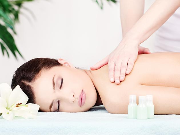 Aromaterápiás relaxmasszázs - 60 perc