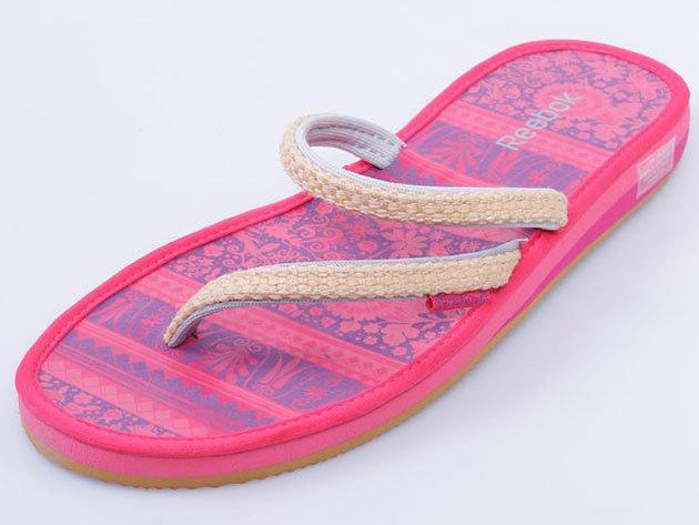 Reebok Shynon, női lábujjközös papucs J10540, pink - 36