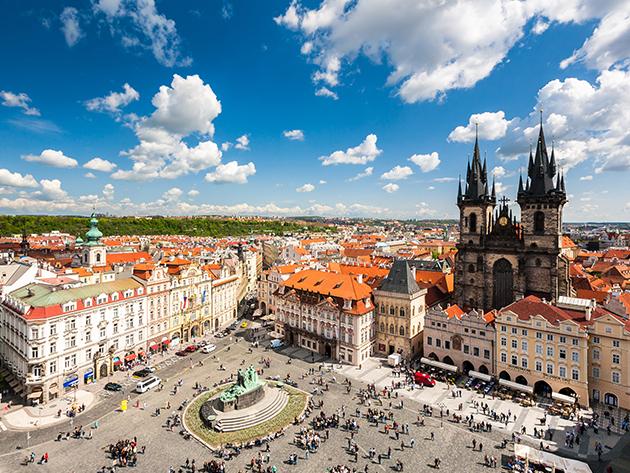 PRÁGA, Royal Court Prague  - 3 nap/2 éj vagy 4 nap/3 éj szállás reggelis ellátással 2 fő részére a város központjában
