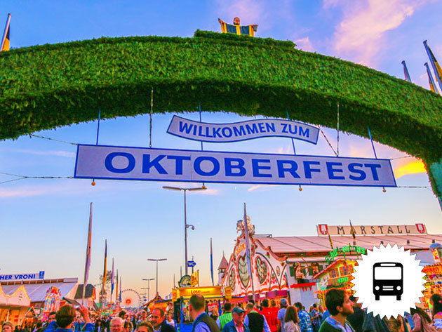 OKTOBERFEST - Látogass el a világ legnagyobb sörfesztiváljára, a müncheni Oktoberfest-re, non-stop buszos utazással / szeptember 30.- október 2. / fő