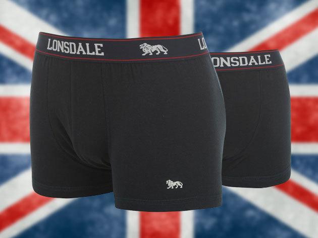 Lonsdale férfi alsónadrág szett klasszikus színekben (2 db/csomag) - minőség és kényelem